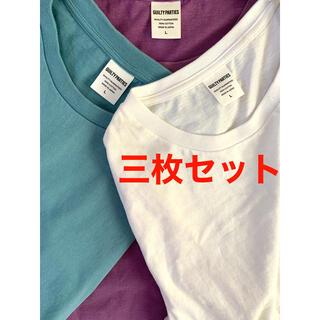WACKO MARIA - wackomaria ワコマリア  クルーネックTシャツ 三枚セット Lサイズ