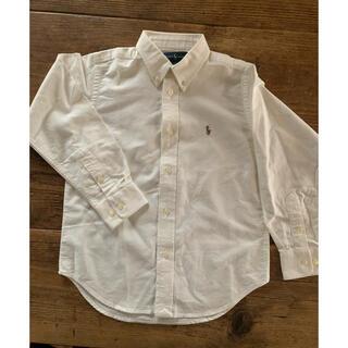 Ralph Lauren - ラルフローレン 110cm 白 ダンガリーシャツ