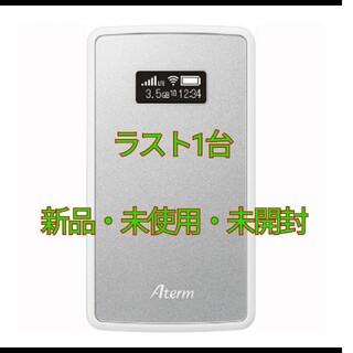 エヌイーシー(NEC)の★期間限定値下げ★ NEC Aterm モバイルルーター MP02LN SW(PC周辺機器)