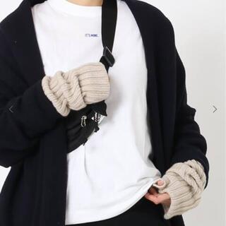 DEUXIEME CLASSE - 2020AW 新品 Cashmere カシミヤ アームウォーマー ベージュ