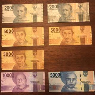 インドネシア 紙幣セット(貨幣)