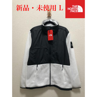 THE NORTH FACE - 【新品】THE NORTH FACE ザ ノースフェイス デナリ 白×黒 L