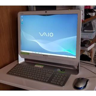ソニー(SONY)のSONY VAIO 一体型デスクトップパソコン (Windows10)(デスクトップ型PC)