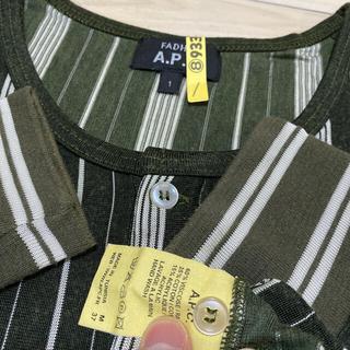 アーペーセー(A.P.C)の●A.P.C.●長袖●チュニジア製(Tシャツ/カットソー(七分/長袖))