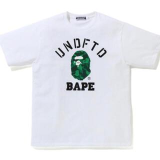 A BATHING APE - BAPE X UNDFTD COLLEGE TEE