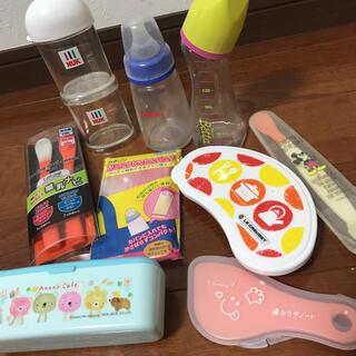 ピジョン(Pigeon)の哺乳瓶、粉ミルクケースなどベビー用食事用品 まとめ売り(哺乳ビン)