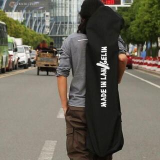 【新品】リップスティック ボードカバー スケボーバッグケース ブラック(スケートボード)