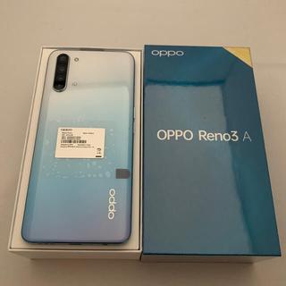 ANDROID - OPPO Reno3 A 6GB/128GB ホワイト SIMフリー版
