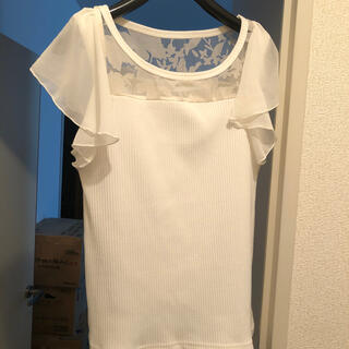 PROPORTION BODY DRESSING - 超美品!proportionレース切り替えトップス