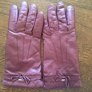 コーチ(COACH)のコーチ 革手袋(手袋)