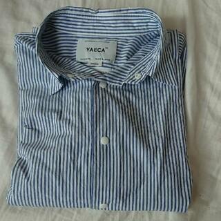 ヤエカ(YAECA)の値下げしました!ヤエカストライプシャツ(シャツ/ブラウス(長袖/七分))