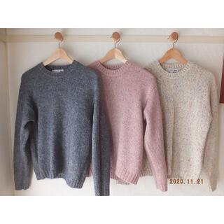 UNIQLO - ★イネス×ユニクロ カラーネップクルーネックセーター 3色セット★
