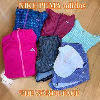 THE NORTH FACE - スポーツウェア ランニングウェア まとめ売り NIKE PUMA
