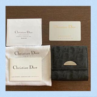 クリスチャンディオール(Christian Dior)の【美品】ディオールDior コインケース小銭入れモノグラム ミニ財布二つ折り(コインケース)