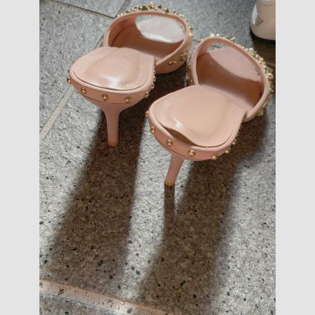 eimy istoire(エイミーイストワール)のeimy スタッズ サンダル レディースの靴/シューズ(サンダル)の商品写真