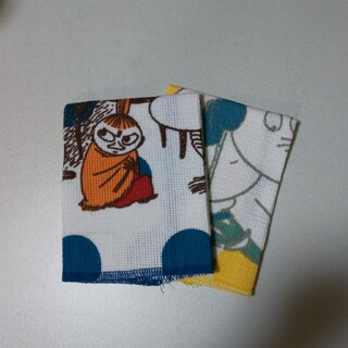 リトルミー(Little Me)の☆ご専用です☆     MOOMIN  ムーミン  布巾  2枚セット   丸眞(収納/キッチン雑貨)