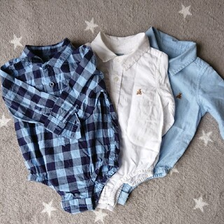 babyGAP - baby gap size80シャツ 3枚セット