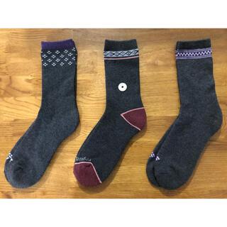 コロンビア(Columbia)の新品コロンビア Columbia メンズソックス 靴下3足セット338(ソックス)