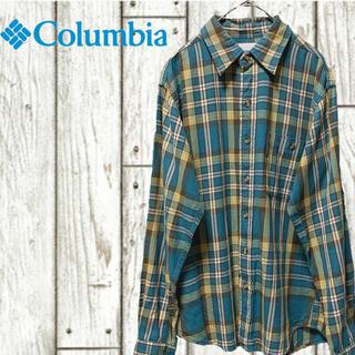 Columbia - ネルシャツ チェックシャツ コロンビア