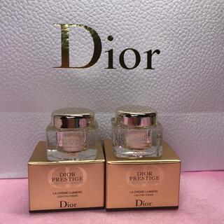クリスチャンディオール(Christian Dior)の🌟Diorプレステージラクレーム5ml×2 新品未使用(フェイスクリーム)