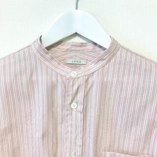 コモリ(COMOLI)のleno&co バンドカラーシャツ(シャツ/ブラウス(長袖/七分))