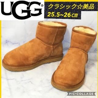 アグ(UGG)のUGG アグ  クラシック ミニ ブーツ キャメル 26㎝(ブーツ)