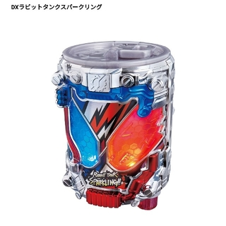 BANDAI - 仮面ライダービルド DXラビットタンクスパーリング 変身アイテム
