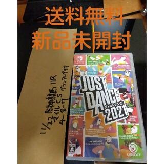 Nintendo Switch - switch 新品未開封ジャストダンス 2021 just dance ソフト