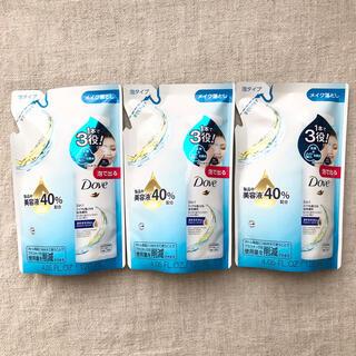 ユニリーバ(Unilever)のダヴ Dove 泡クレンジング 詰め替え用 120ml×3袋(クレンジング/メイク落とし)