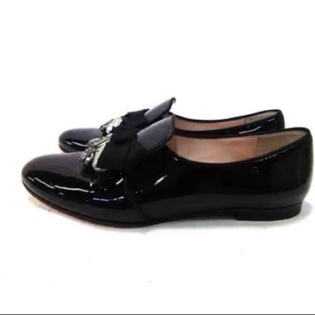 miumiu(ミュウミュウ)のミュウミュウ miu miu フラットシューズ レディースの靴/シューズ(ローファー/革靴)の商品写真