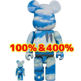 メディコムトイ(MEDICOM TOY)の新品 BE@RBRICK Rene Magritte  100% & 400%(その他)