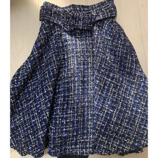 トランテアンソンドゥモード(31 Sons de mode)のトランティアン ツイードスカート(ひざ丈スカート)