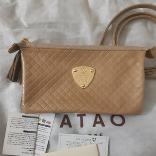 アタオ(ATAO)のアタオ ブーブークロス ゴールド(ショルダーバッグ)
