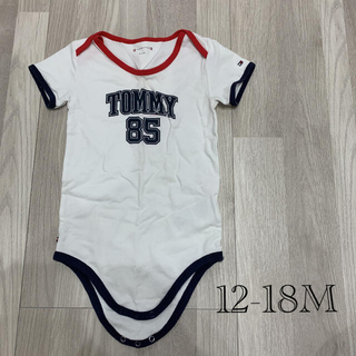 TOMMY HILFIGER - TOMMY 半袖ロンパース 86