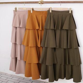 シェリーモナ(Cherie Mona)のシェリーモナ   オレンジスカート(ロングスカート)