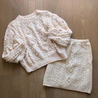 サンタモニカ(Santa Monica)の:: used*knit set up ::(ニット/セーター)