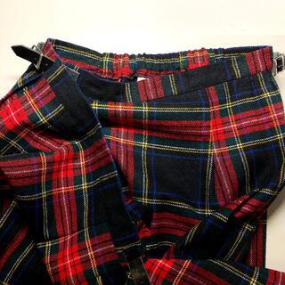 オニール(O'NEILL)のオニールオブダブリン チェック ラップスカート クリップ付 キルトスカート(ひざ丈スカート)