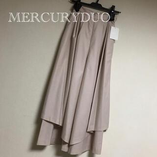 マーキュリーデュオ(MERCURYDUO)の【新品タグ付】MERCURYDUOティアードガウチョパンツ❃︎(カジュアルパンツ)