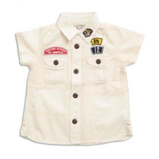 エフオーキッズ(F.O.KIDS)の【新品未使用】F.O.KIDS リメイクパッチワークシャツ(ジャケット/上着)
