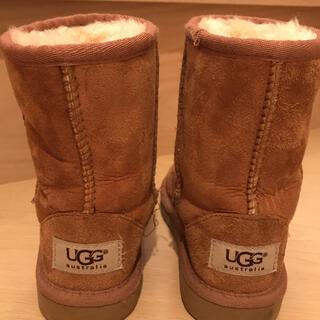 アグ(UGG)のUGG キッズムートンブーツ16cm(ブーツ)