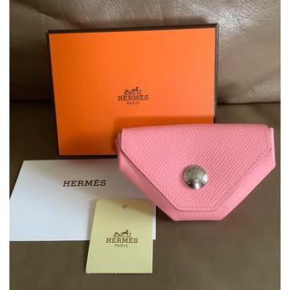 エルメス(Hermes)のHERMES  ルヴァンキャトル エルメス コインケース 小銭入れ ピンク(コインケース)