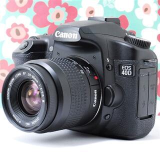 Canon - ❤️高速連写❤️スマホに送れる❤Canon 40Dレンズキット❤高級ボディ❤️