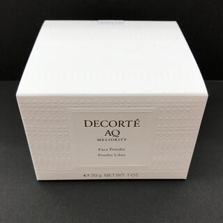COSME DECORTE - コスメデコルテ  AQ ミリオリティ フェイスパウダー 新品