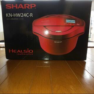 シャープ(SHARP)のSHARP KN-HW24C-R(調理機器)