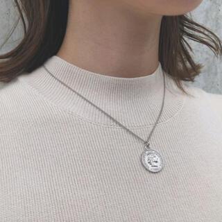 フリークスストア(FREAK'S STORE)のsilver 925 coin top necklace-silver-(ネックレス)