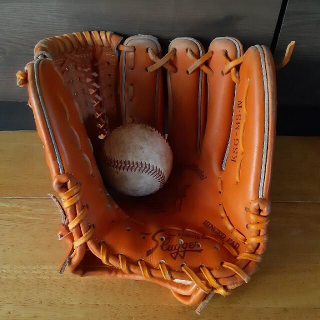 久保田スラッガー(クボタスラッガー)の早い者勝ちです!最終値下げ。久保田スラッガー硬式グローブ スポーツ/アウトドアの野球(グローブ)の商品写真