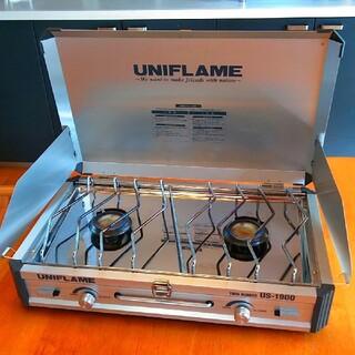 ユニフレーム(UNIFLAME)のUNIFLAME ユニフレーム ツインバーナー US-1900(ストーブ/コンロ)