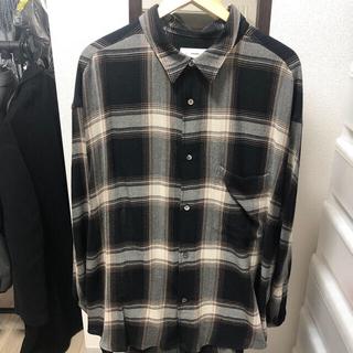1LDK SELECT - graphpaper 19aw チェックシャツ