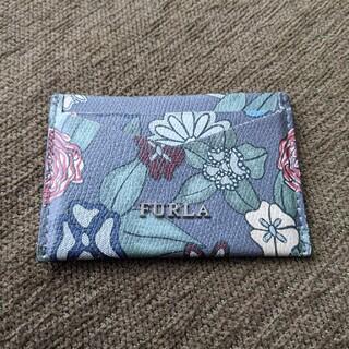 フルラ(Furla)のFURLA 花柄カードケース(パスケース/IDカードホルダー)
