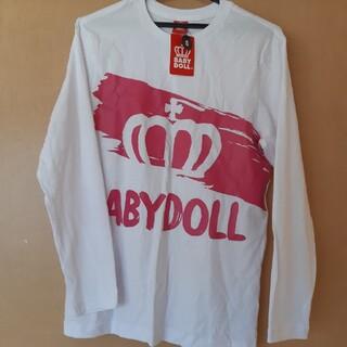 ベビードール(BABYDOLL)の【新品タグ付き】BABY DOLL 長袖シャツ(Tシャツ(長袖/七分))